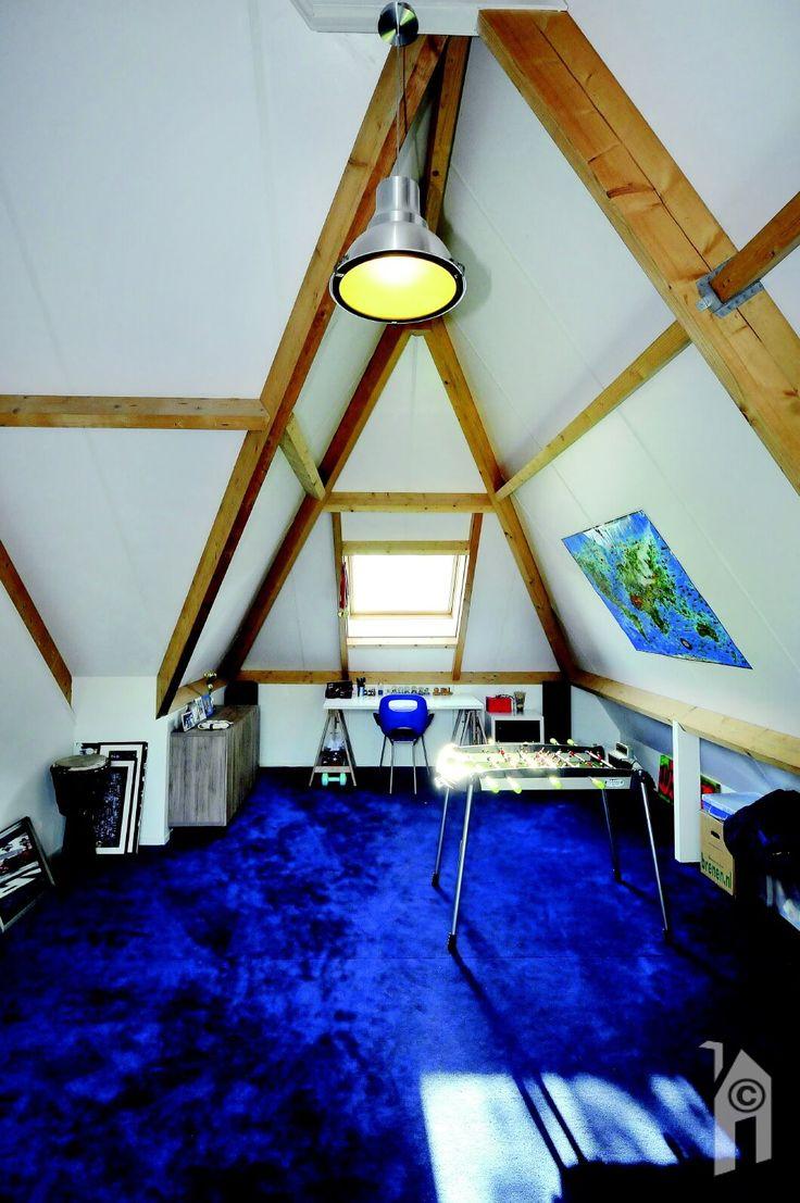 Een heerlijke zolderkamer met nét iets meer uitzicht