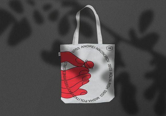 Download Realistic Tote Bag Mockup By Studio Danyel Mejia On Creativemarket Bag Mockup Templates Download Design Designer Bag Mockup Branded Tote Bags Tote Bag