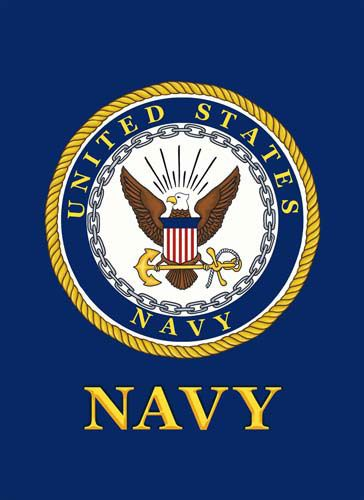 Custom Decor Flag Us Navy I Grandpa Was In The