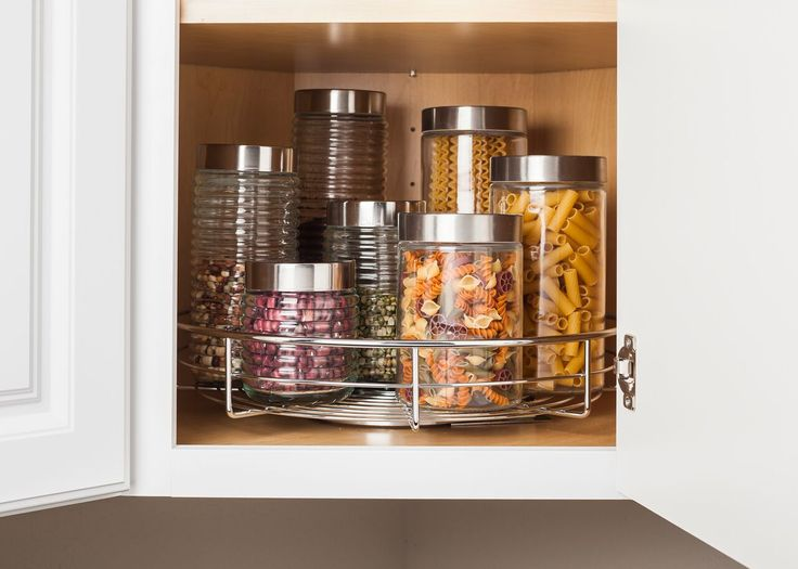 Organize Your Kitchen In 11 Minutes Or Less Easy Install Single Shelf  Swivel Lazy Susan. Installs With 4 Screws. Photos By Hardware Resources.