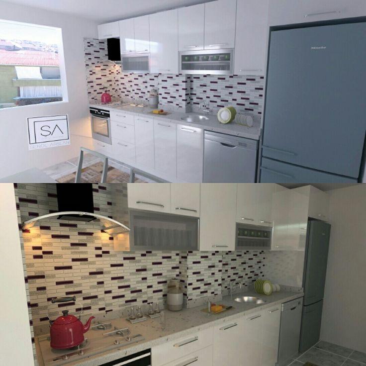 Mutfak görsel cizimleri #mutfakdolabi #mutfakdizayn #akrilikkapak #mutfakcizimi #cimstorntezgah #cammozaik #kitchen #kapi #akrilikkapak #hingglosskapak #usta #cizim