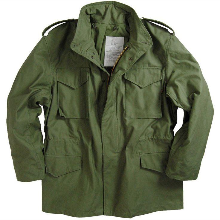 alphaindustries m65 jacket on effortless gent