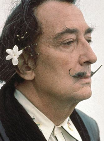 Salvador Dali, Spanish artist and Surrealist. Born May 11, 1904, in Figueres, Spain.