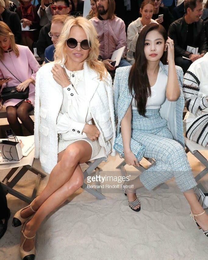 27c75b7bdac25 Pharrell Williams ➡ Pamela Anderson ➡ Jennie Kim. at Chanel Paris Fashion  Week  JenniexChanel  CHANEL  PFW  ChanelSpringsummer 🖤 -…