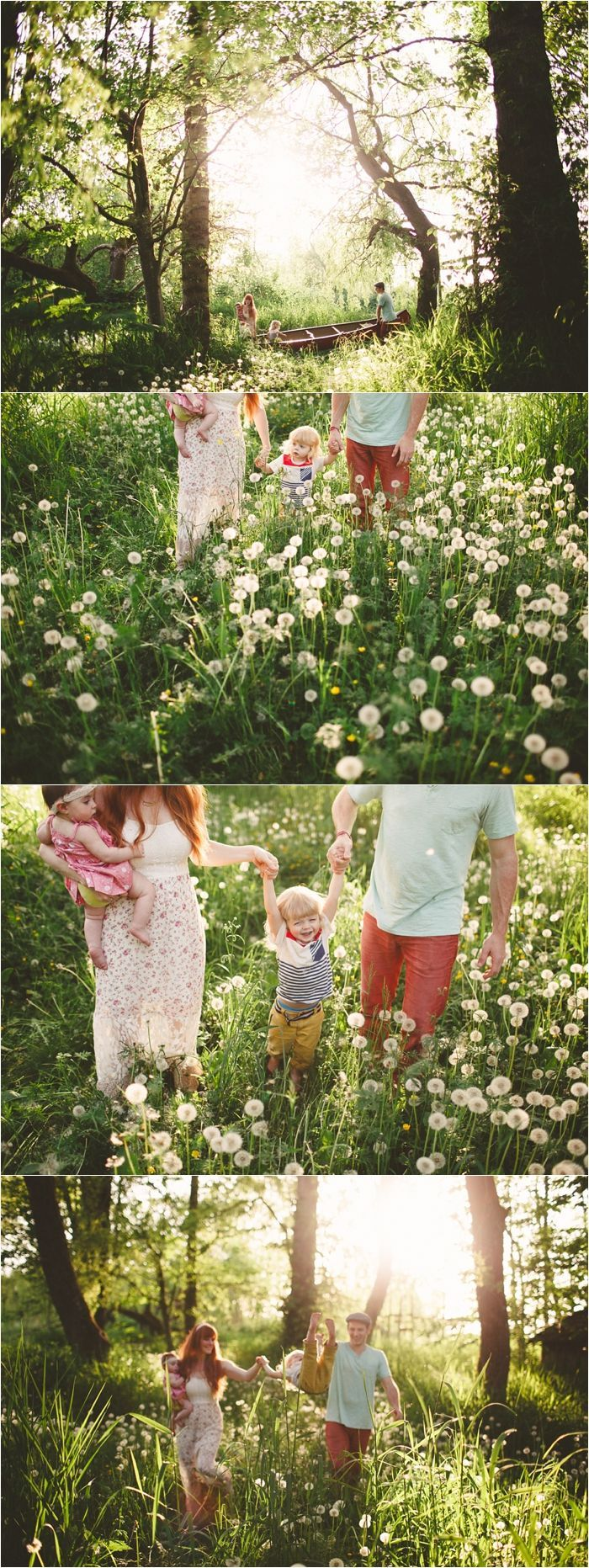 wildflowers family session