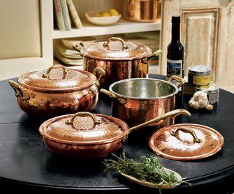 Dodici Copper Cookware Collection. Napa Style