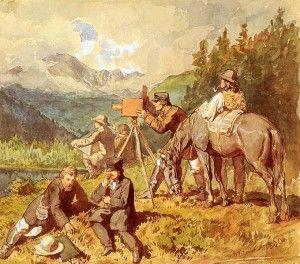 Wojciech Gerson - In Tatra Mountains 1860