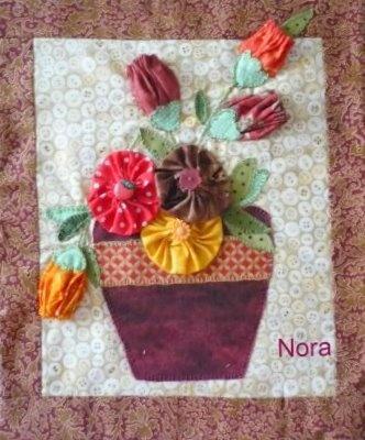 Revista con artesan as de tela y flores de tela en el arte - Artesanias con telas ...