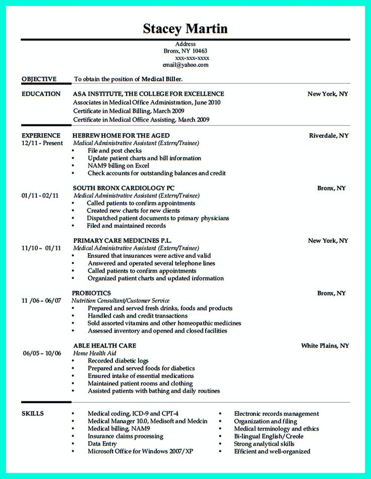 best 2695 resume sample template and format ideas on pinterest