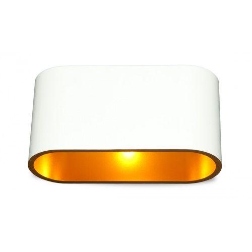 Flurbelecuhtung / Wandleuchte Cetus Weiß-Gold günstig online kaufen - FASHION FOR HOME