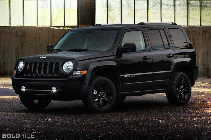 Jeep Patriot all black