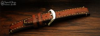 Curele de ceas, din piele, handmade. Topouzelli Straps.: Curea de ceas, handmade, T 864
