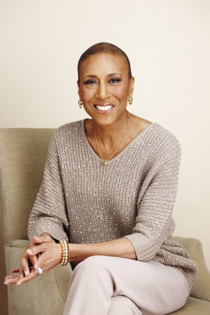 Robin Roberts: anchor of ABC's morning show Good Morning America