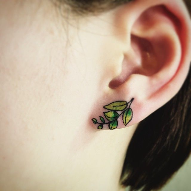 37 Ear Tattoos See Which Made Our 1: Best 25+ Ear Tattoos Ideas On Pinterest