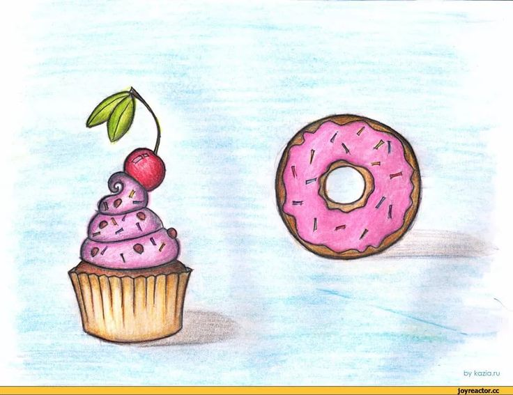 День имени, прикольные рисунки сладости