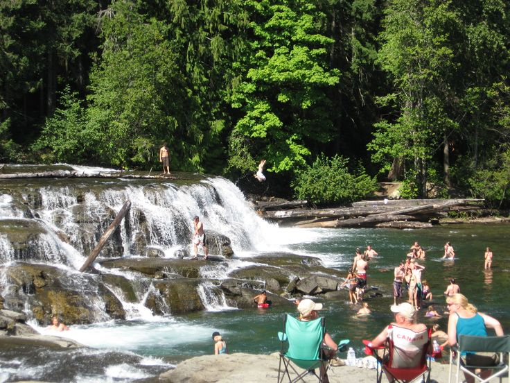 Stotan Falls,  Comox Valley, Van Isle great place on a hot day