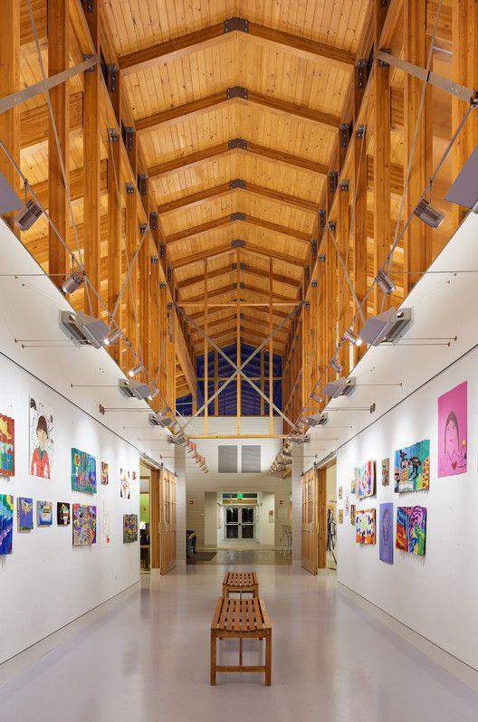 Centro Estudantil Indian Mountain / Flansburgh Architects