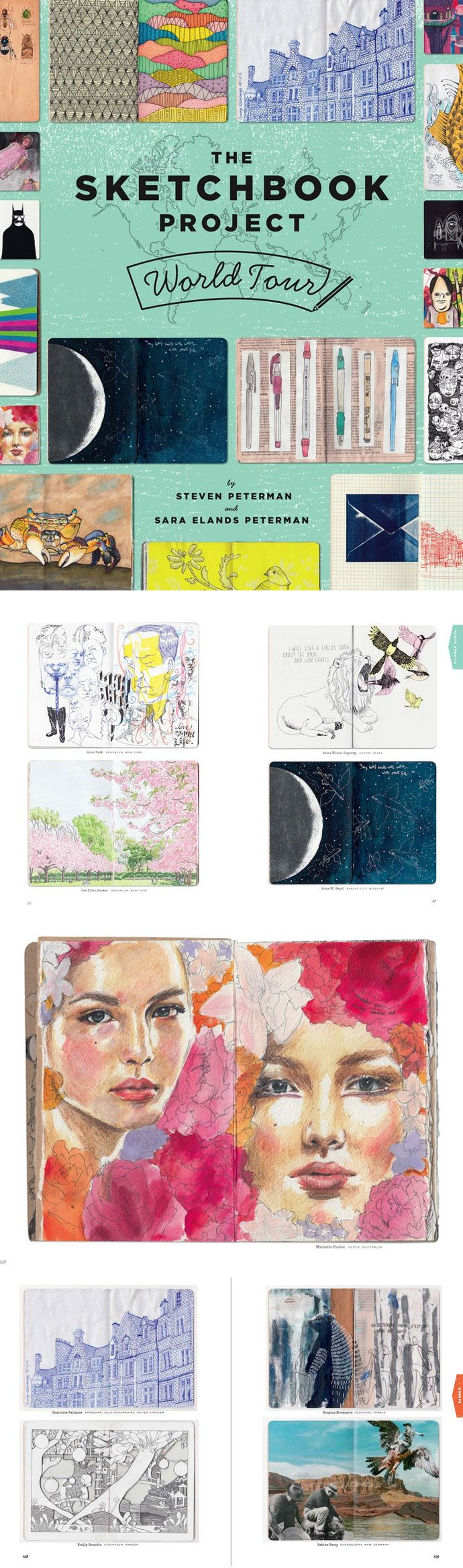 For the last eight years the Sketchbook Project has amassed an astonishing collection of more than 30-thousand crowd-sourced sketchbooks from every corner of the world. This books features some of the best and most fascinating pieces in the collection. #colossal