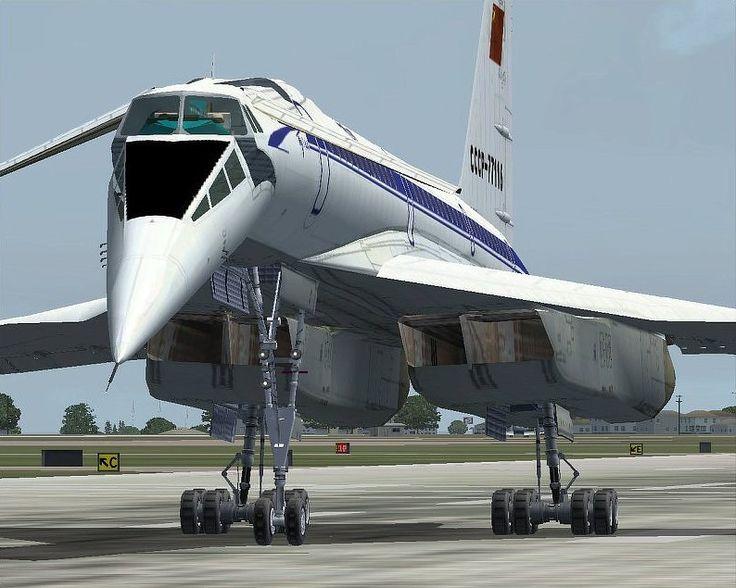 Tupolev TU-144, the first pilot was prof. Yolyan