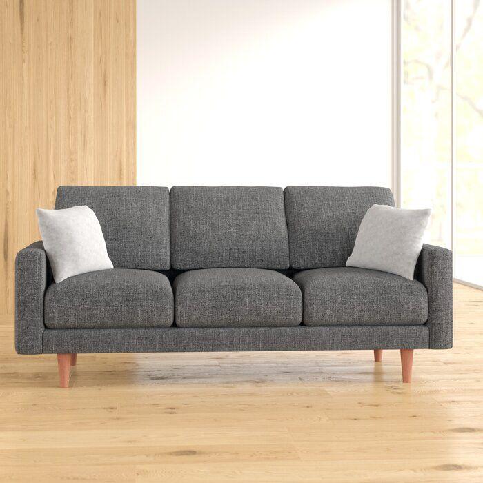 Stoughton Velvet 71 7 Square Arm Sofa Living Room Decor Furniture Sofa Sofas For Small Spaces