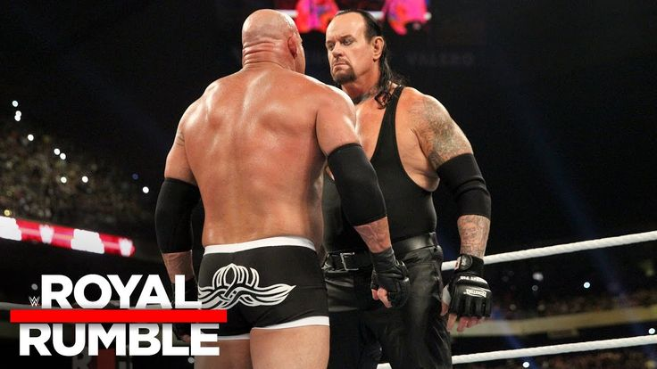 The Undertaker eliminates Goldberg in the Royal Rumble Match: Royal Rumb...