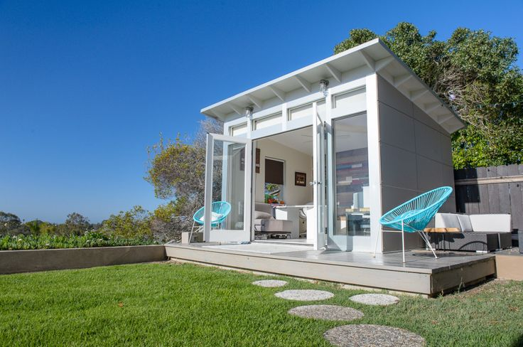 Best 25 studio shed ideas on pinterest art shed for Build your own backyard office