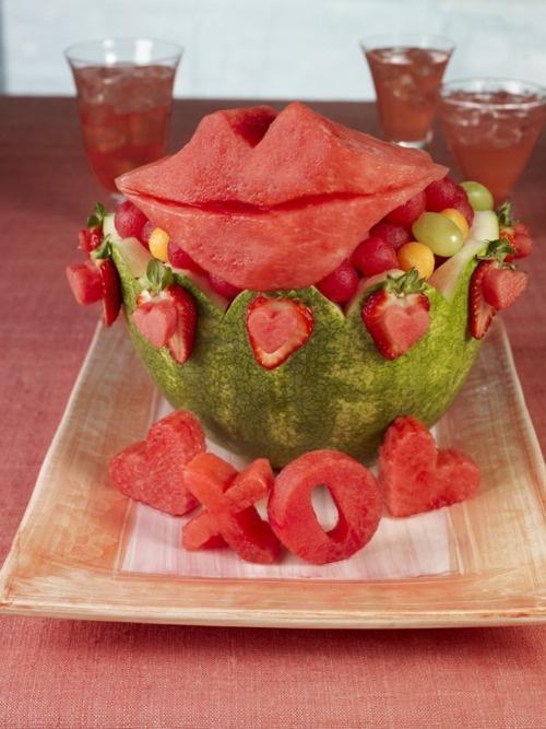 7) Watermelon creation --Watermelon fruit bowls