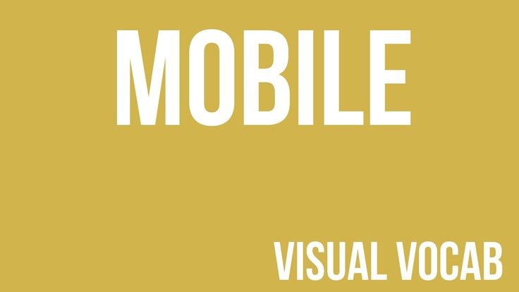 Mobile defined - From Goodbye-Art Academy