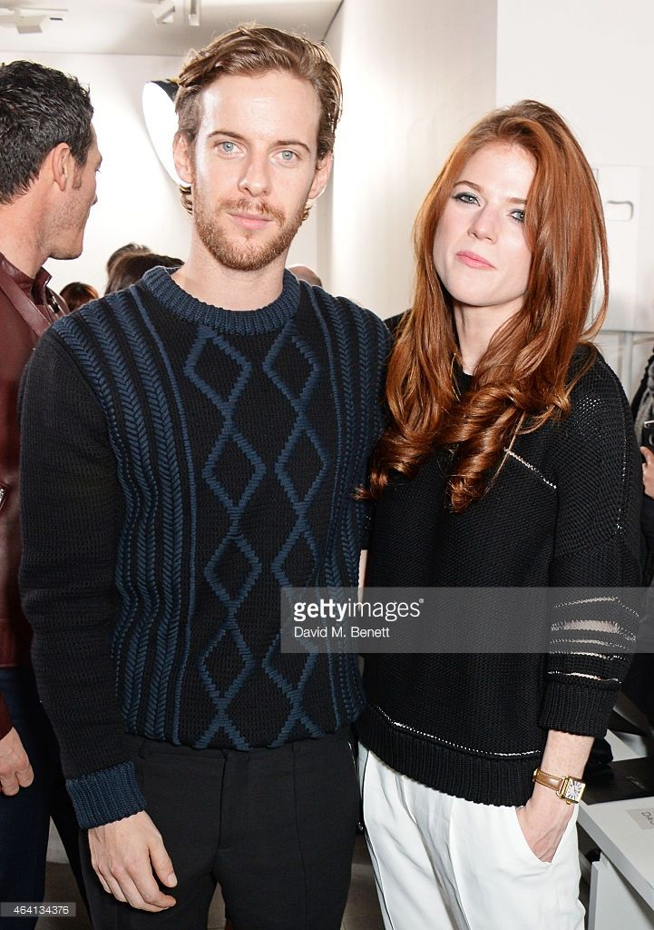 Luke Treadaway and Rose Leslie attend the Pringle of Scotland Fully... ニュース写真   Getty Images