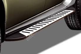 GoldSun-Design:  Aluminium Foot Step (with heavy duty clamps) for Tata INDICA VISTA 2