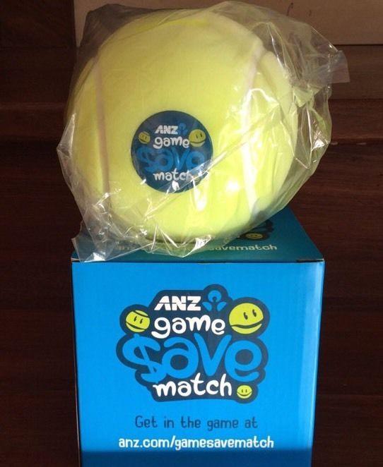 ANZ Bank Money Box 2015 Tennis Ball  Moneybox Collectable Brand New In Box