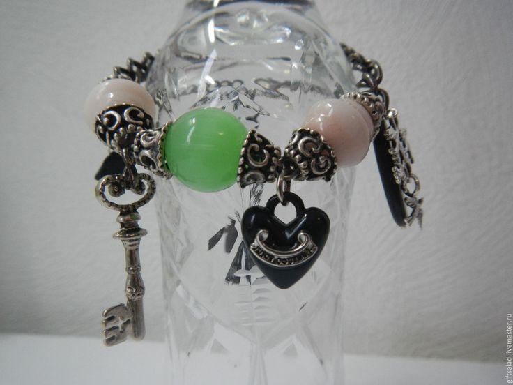 Купить Каваий браслет на любое запястье - Единичный экземпляр, единственный экземпляр, единственный, серебряный
