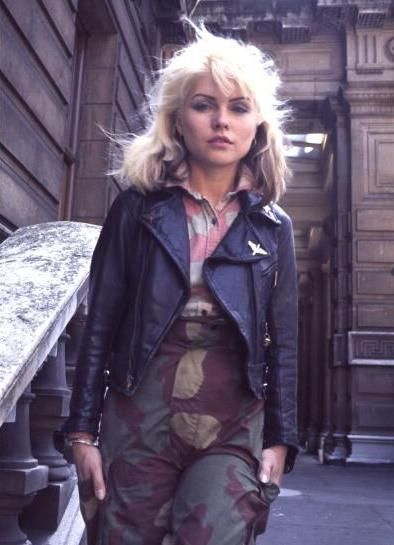 Blondie's Debbie Harry: 13 fashion tips from the style icon's outfits camouflage and biker jacket