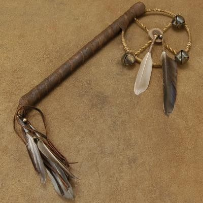 Plains Native American Prayer Stick. A lot of faith, a lot of love.