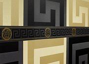 Room image 2 Versace Wallpaper - Grey Key