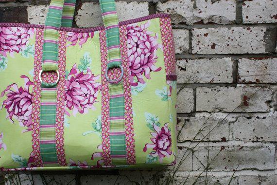 Tote Bag Pattern - The Multi-Purpose Carry All Bag - pdf pattern. $8.50, via Etsy.