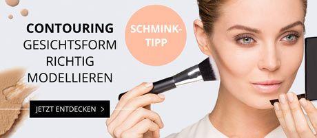 Schminkanleitung für Contouring Make-up