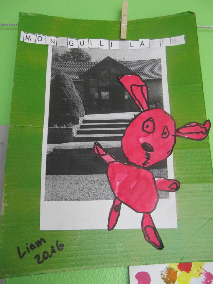 Les Guili Lapin des petits moyens à l'école chez Agathe V