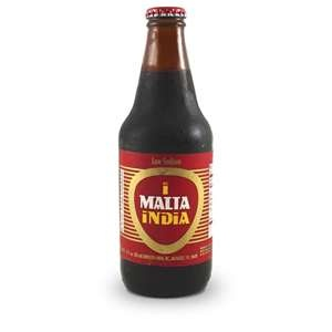 "Malta: A Puerto Rican Drink: (non-alcoholic) Malta originated in Germany as Malzbier (""malt beer""), a malty dark beer whose fermentation was interrupted at approximately 2% ABV, leaving quite a lot of residual sugars in the finished beer. Up to the 1950s, Malzbier was considered a fortifying food for nursing mothers, recovering patients, the elderly etc. Malta is often mixed - in some Caribbean countries, with evaporated milk or condensed milk. Malta India is brewed in #PuertoRico"