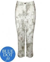 Michele 'Blue Dot' printed jeans (107465)