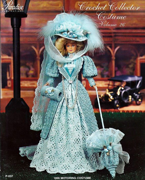 Crochet Collector Costume Volume 26 / 1896 by grammysyarngarden
