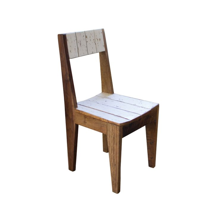 We're huge fans of this chair. Not only is the silhouette such a classic, simple one, but the distressed white seat and back are so sweet, we can't help but imagine one in every room of our house. The ...  Find the Sweet Teak Chair, as seen in the Our Rustic Thanksgiving Collection at http://dotandbo.com/collections/styleyourseason-our-rustic-thanksgiving?utm_source=pinterest&utm_medium=organic&db_sku=89776