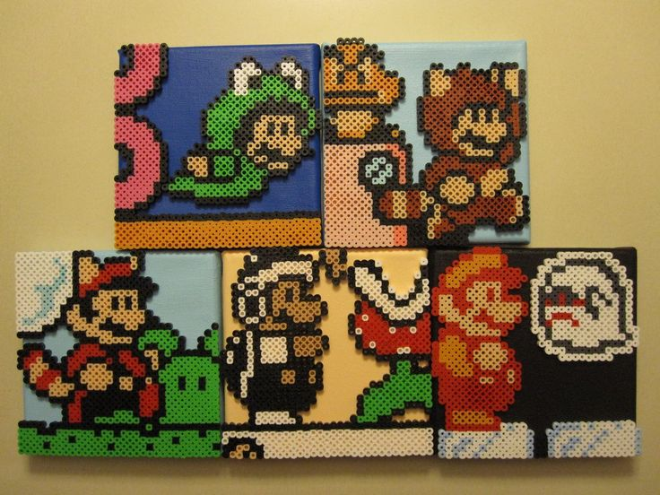 I think a lot of use have made sprites out of Perler beads at one time or another, but Devianartist NestalgicBits has gone one better creating these little canvas pieces of video game scene. Gotta ...