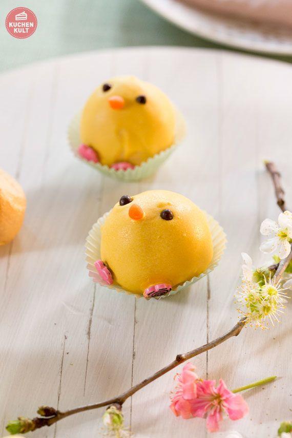 Cake Pops Ostern Küken einfaches Rezept Mini Windbeutel Coppenrath & Wiese easter cake ideas / snacks