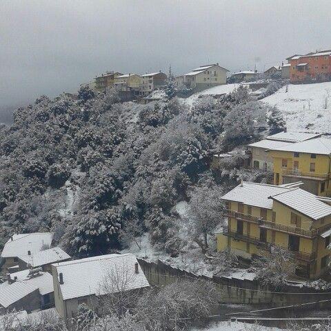 Prima neve a Tonara sul Gennargentu!