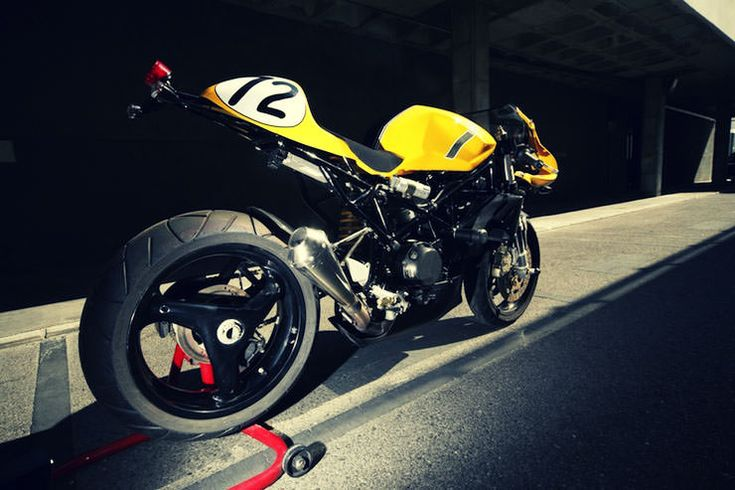 custom ducati motorbike 2