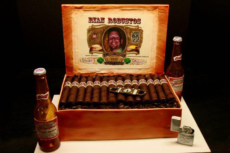 Cigar Themed Birthday Party 30th Birthday Favorite