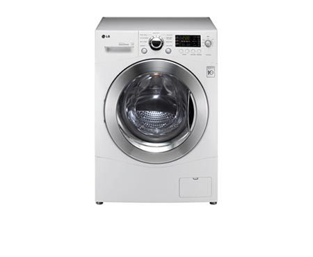 LG WM3455HW: 24 inch Compact Washer Dryer Combo | LG USA - This will allow for normal laundry washing without taking up much space! :)