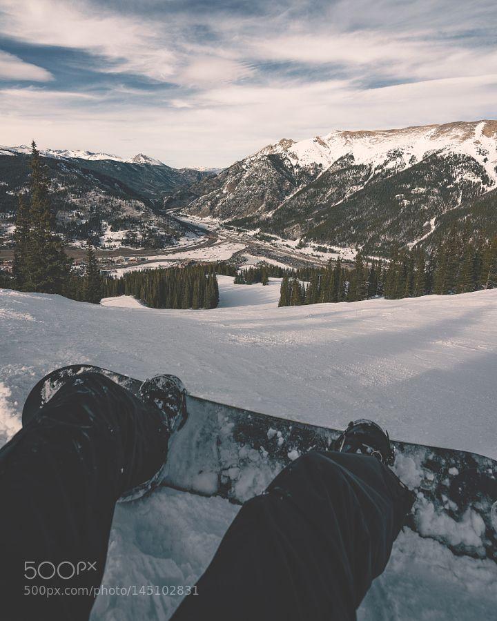 Snowboarding View by salvadorsalais85
