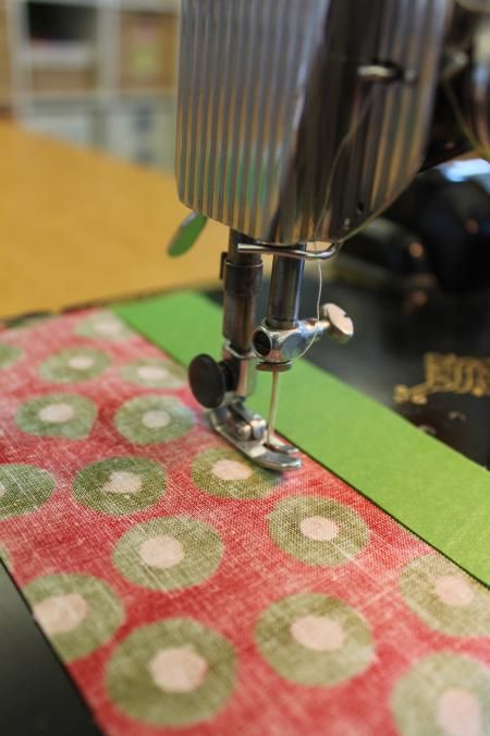 Learn our trick to sewing straight!